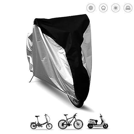 Funda para bicicleta, resistente al agua, protección contra rayos ...