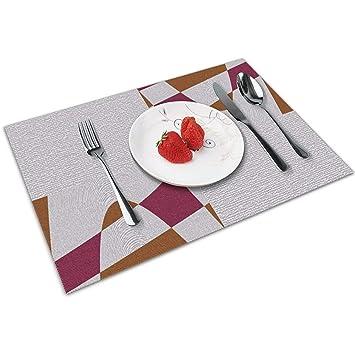 Cheques clandestinos Tapetes de mesa Manteles individuales ...