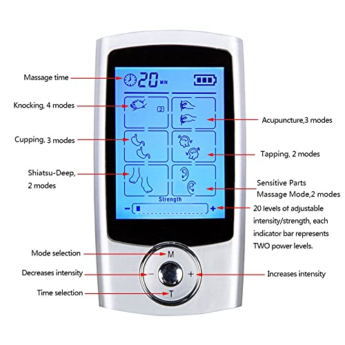 Tens-Unit-Cleared-Rechargeable-Machine-Electric-Massager