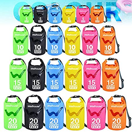 Birthday Gift Boating wellhouse Waterproof Dry Bag 5L//10L//20L-Water Resistant Lightweight Backpack with Handle-Floating Dry Storage Ocean Bag Keeps Gear Impervious to Water-Perfect for Kayaking