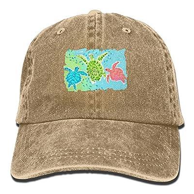 FBGVFD Tortoise Sea Turtle Baseball Caps Classic Low Profile Snapback Hat For Men & Women