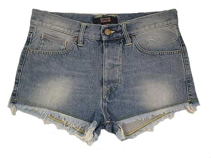 Diesel - Pantalón corto - para mujer azul azul