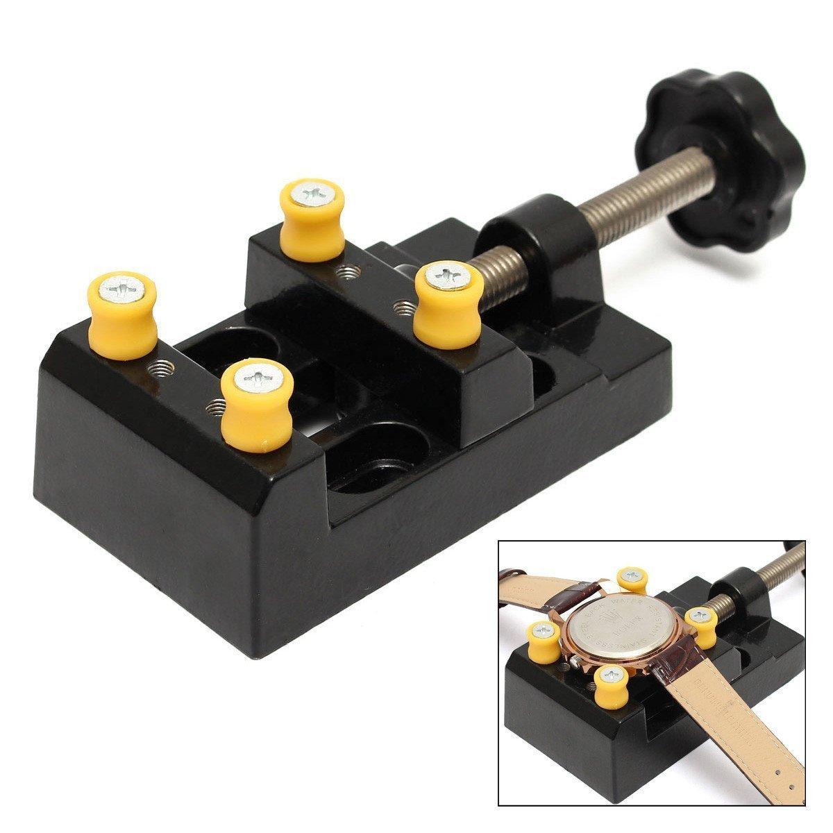 sourcemall mit Mini-Werkbank Schraubstock Tischplatte Clamp Drill Press Schraubstock fü r Hobby-Handwerker