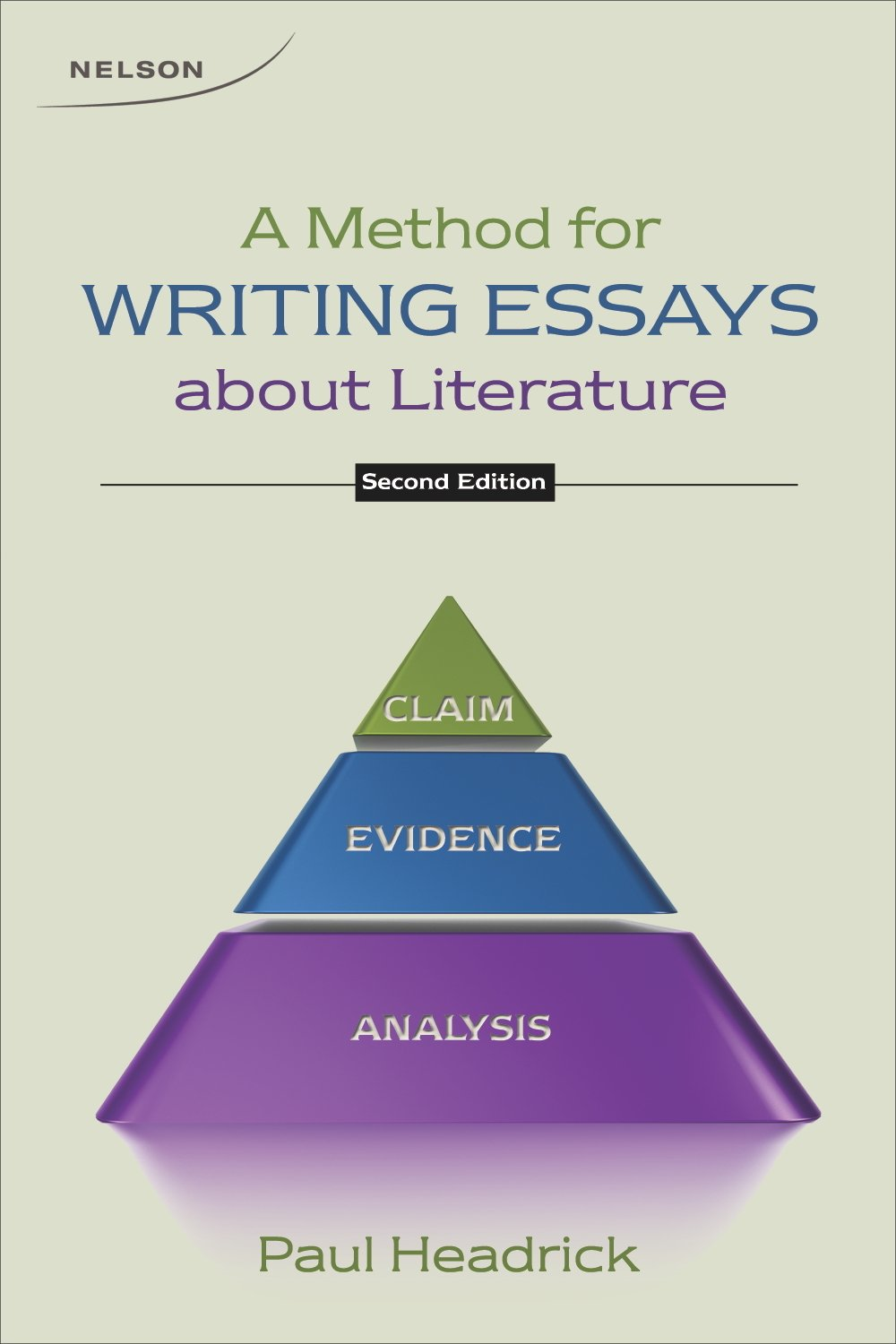 method for writing essays about literature  method for writing essays about literature 9780176508609 com books