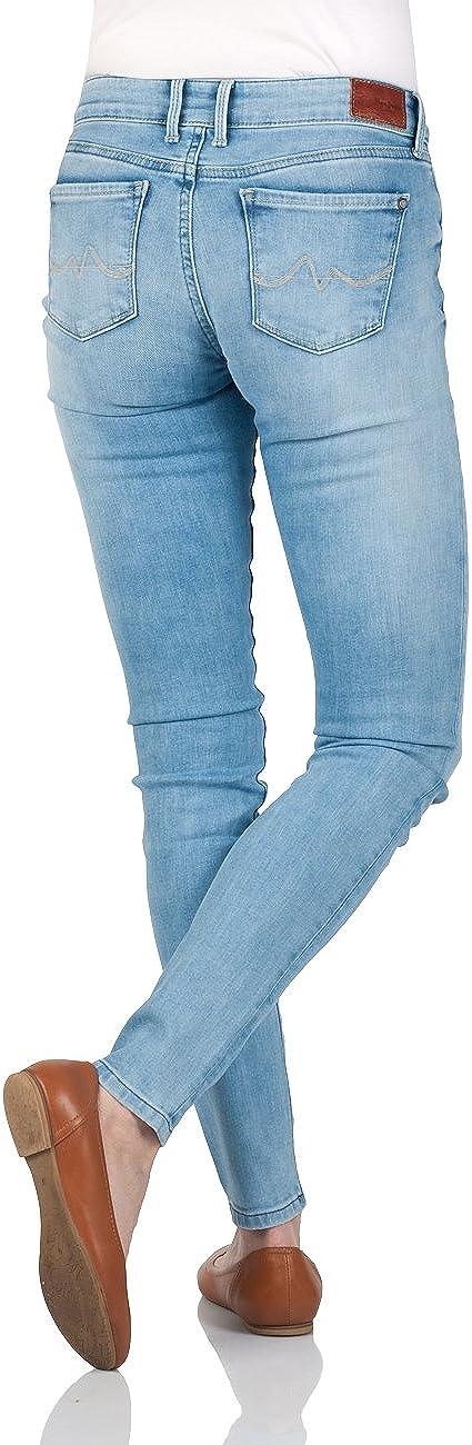 Pepe Jeans Women's Jeans Denim Oz Str American Blue Lt