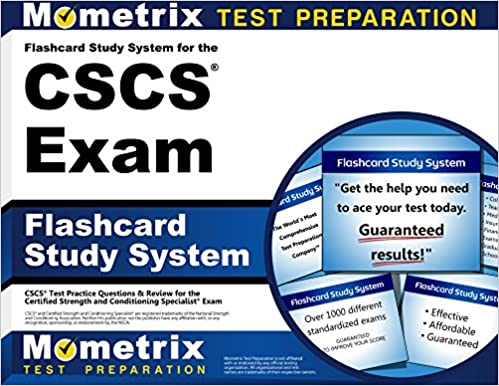 Flashcard Study System for the CSCS Exam: CSCS Test Practice