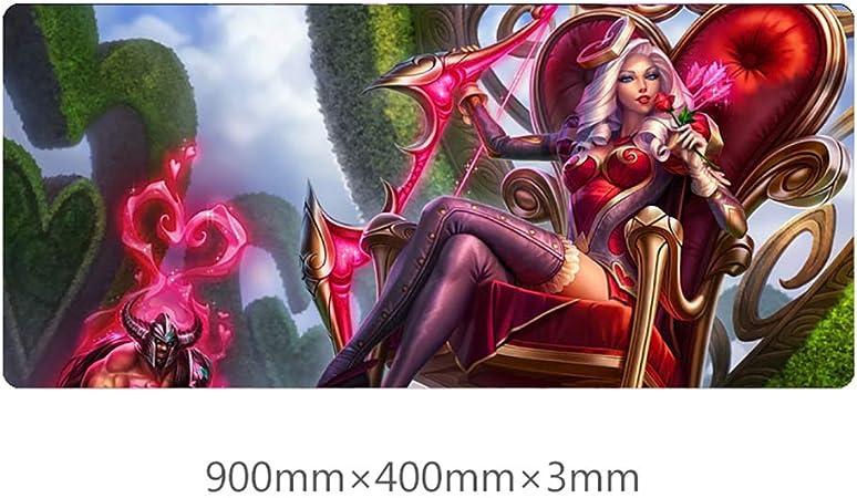 BEP LOL Ashe Skin - Alfombrilla para ratón y Teclado (400 x ...