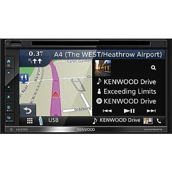 Kenwood Electronics DNX5180BTS 200W Bluetooth Negro Receptor Multimedia para Coche - Radio para Coche (Negro