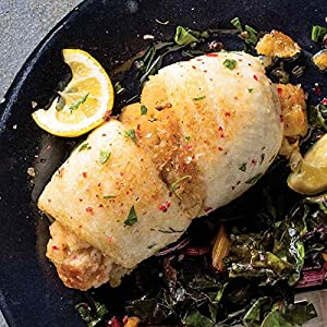 Omaha Steaks 4 (4.5 oz.) Stuffed Sole with Scallops and Crabmeat