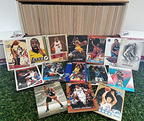 - 600 card Jumbo lot of Basketball cards Starter kit with Guaranteed Superstars - 1970's to present. Comes in Custom Souvenir box. Great Gift for 1st time collectors! Thank you Over 1,500 SOLD by 3bros
