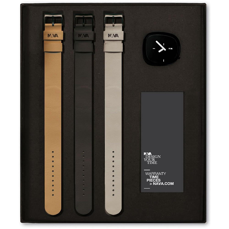 Nava Time Uhr Time Pieces - Stone Gift Box - Schwarz - O480-N