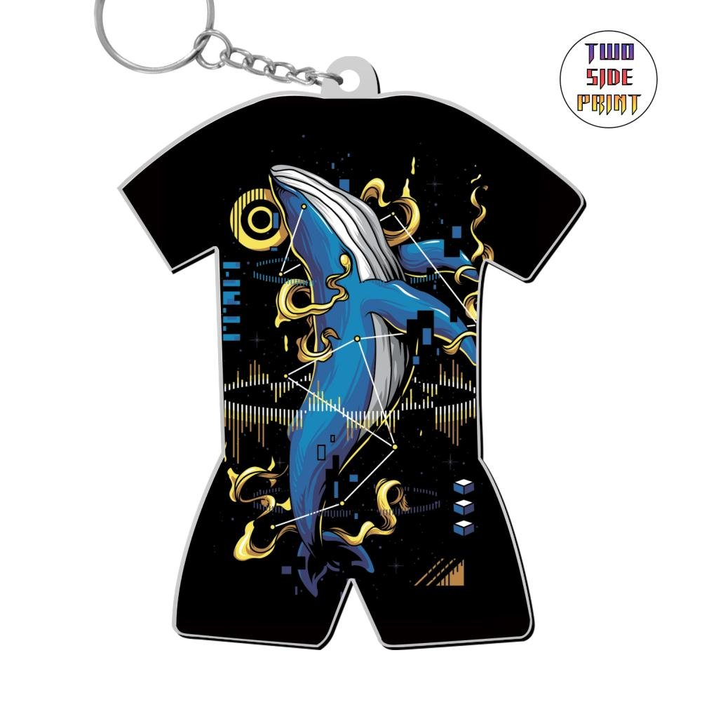 Amazon Custom Keychain Whale Keyring World Cup Polo Shirt Logo