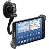 "kwmobile flexible car shield mount for 7 - 10,5"" Tablet - car holder with suction cup in black - e.g. compatible with Apple, Samsung, Lenovo, Asus, Huawei, Amazon, Acer, Microsoft, Sony, LG"