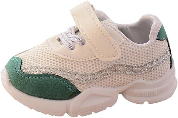 YanHoo Zapatos para niños Calzado Deportivo para niños Zapatillas Deportivas Niños pequeños Deportes para niños Zapatos para Correr para niños Chicos Chicas Malla ...