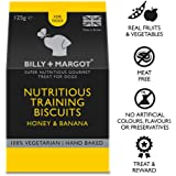 Billy + Margot Honey and Banana Training Biscuits for Adult Dogs, 125 g