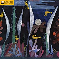 Paul Klee 2018 12 x 12 Inch Monthly Square Wall Calendar by Flame Tree, Swiss-German Art Artist Surrealism Expressionism