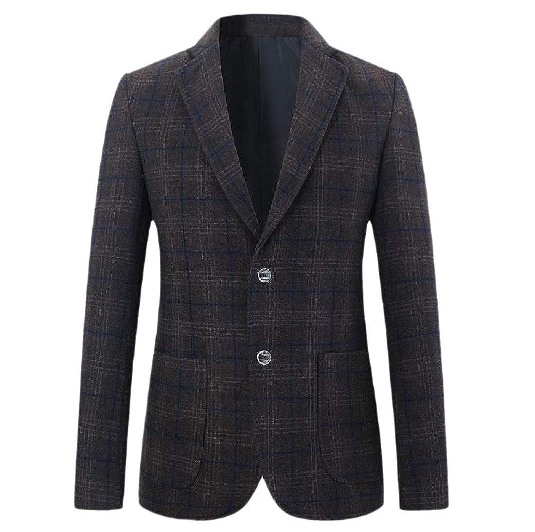 neveraway Men Wedding Career Outwear Tops Premium Classic Blazer Coat