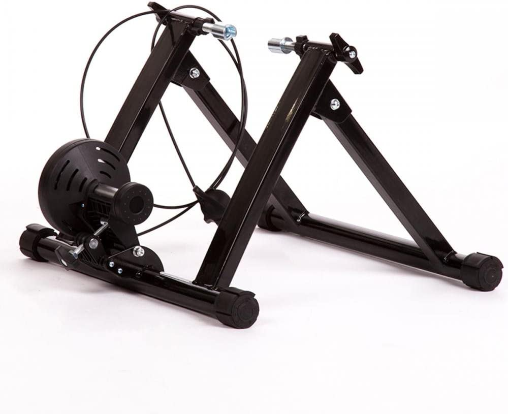 FDW Magnetic Indoor Bicycle Bike Trainer Exercise Stand 5 Levels of Resistance