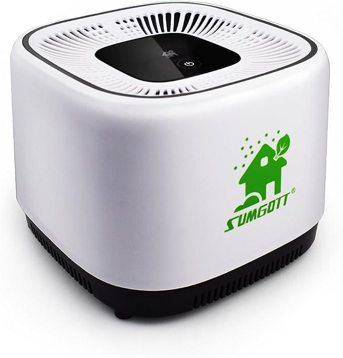 Purificador aire SUMGOTT de Carbón Activado HEPA Filtro de Aire ...
