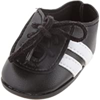 """F Fityle 18"""" American AG Journey Dolls Fitness Sports Gym Training Shoes Pair Black"""