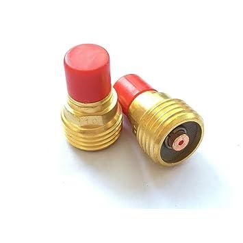 2pcs pequeño Gas lente Kit 45 V42 1.0 mm 0,04