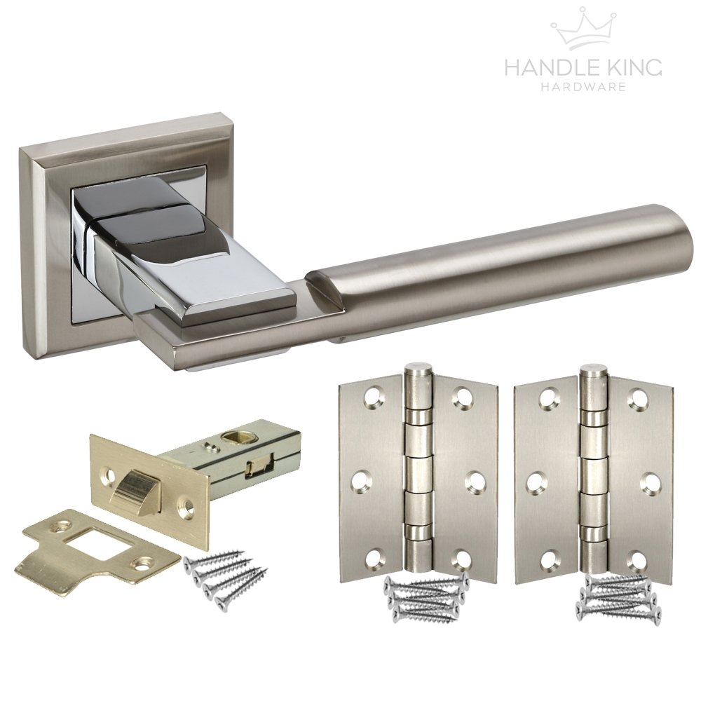 Bolt through Internal Door Latch to suit a chrome finish L22163NP