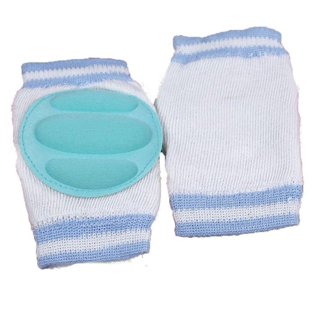 bismarckbeer Baby Anti-Slip Knee Pads Safety Crawling Protective Elbow Cushion Leg Warmer