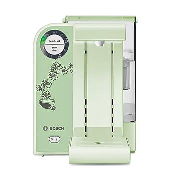 Bosch Filtrino THD2026 - Dispensador de agua caliente, filtro Brita, 5 temperaturas, 2 L, color verde: Amazon.es: Hogar