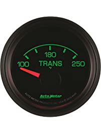 "Auto Meter 8449 Factory Match 2-1/16"" 100-250 Degree Fahrenheit Transmission Temperature Gauge for Ford Racing"