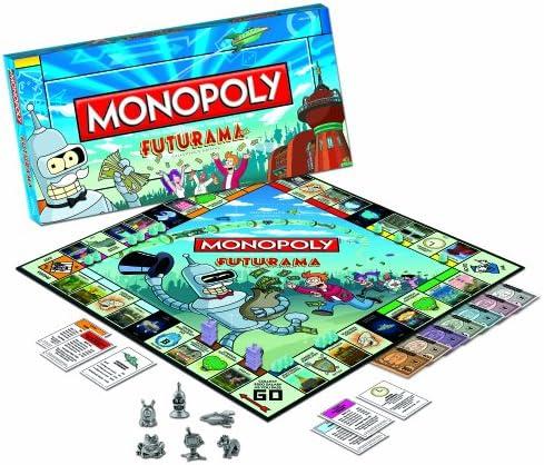 Futurama Monopoly Board Game: USAopoly: Amazon.es: Juguetes y juegos