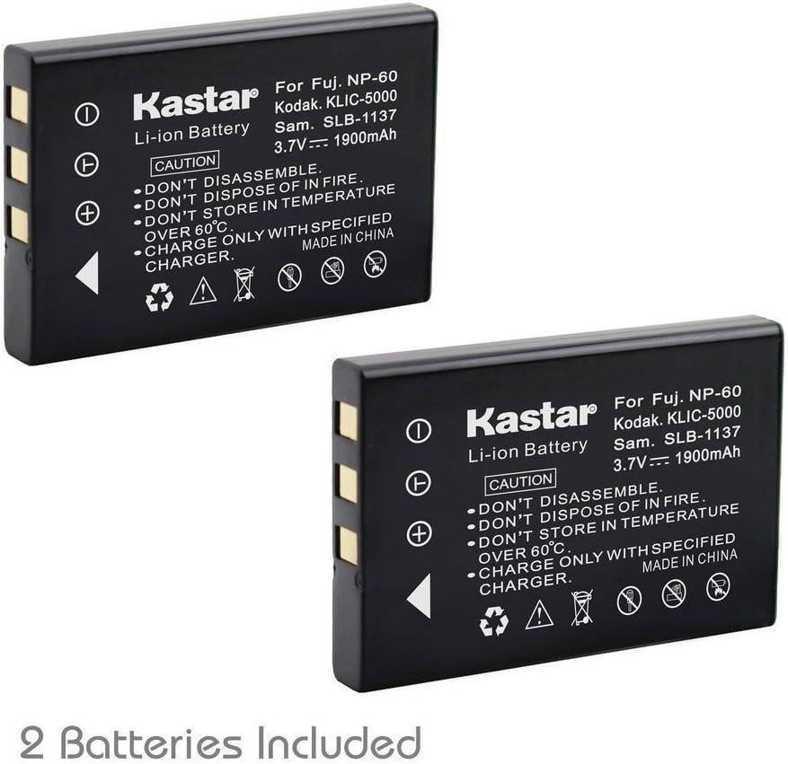 Kastar Battery 2X for Hewlett Packard A1812A L1812A L1812B Q2232-80001 HP PhotoSmart R07 R507 R607 R607xi R707 R707v R707xi R717 R725 R727 R817 R817v R817xi R818 R827 R837 R847 R926 R927 R937 R967