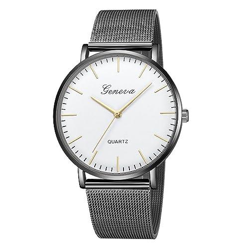 Amazon.com: Feitengtd - Reloj de pulsera para mujer, cuarzo ...