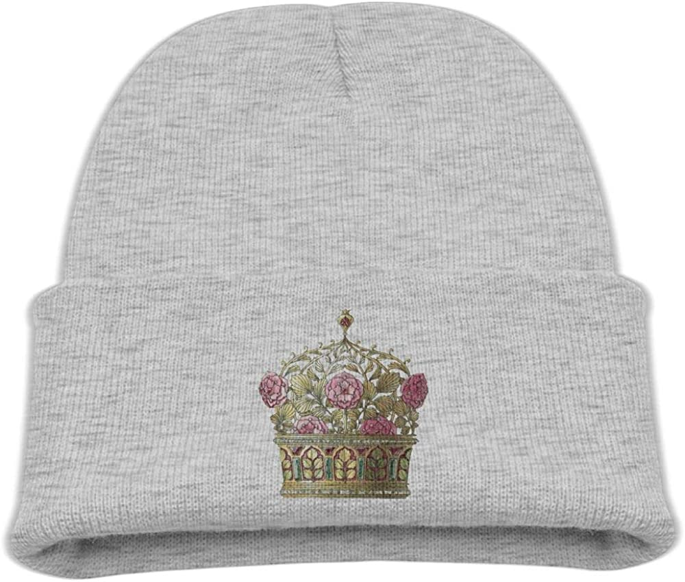 Banana King Crown King Baby Beanie Hat Toddler Winter Warm Knit Woolen Cap for Boys//Girls