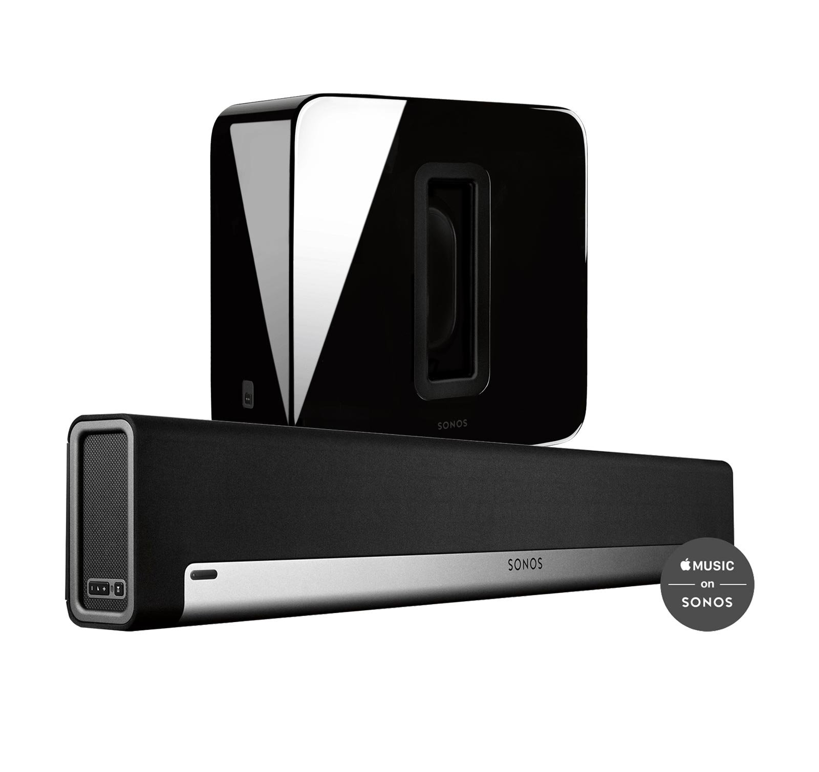 Sonos 3.1 Home Theater System with PLAYBAR and SUB (Black) by Sonos