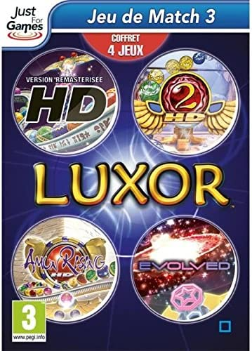 Just for Games Luxor 4-pack, PC - Juego (PC, PC, Multi, E (para ...