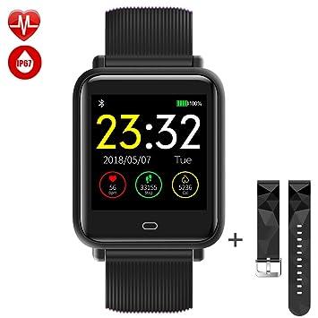 TagoBee TB12 IP68 Reloj Inteligente a Prueba de Agua Monitor de la Aptitud Presión Arterial podómetro Compatible con Android teléfono y iOS