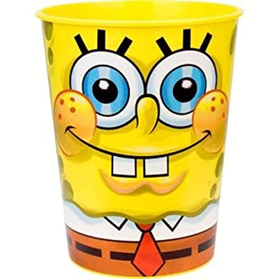 SpongeBob Squarepants Classic 17 oz. Stadium Cups 12 Pack: Toys & Games