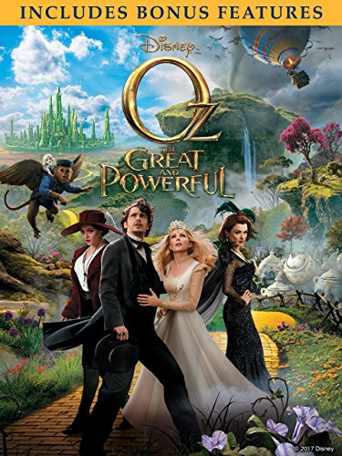 Oz The Great And Powerful (With Bonus Features) -