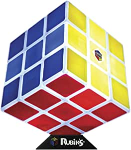 Paladone Rubik's Cube 3-D Decorative Light- Fully Functional Light Up Rubik's Cube