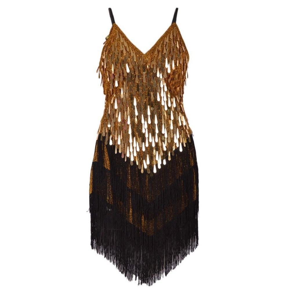 Eyekepper Wonens Gowns Rhythm Ballroom Salsa Samba Rumba Tango Latin Dance Dress