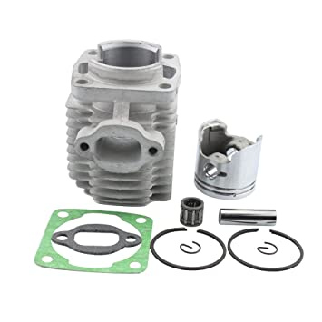GOOFIT 40mm Bore Cylinder Kit with Piston for 2 Stroke 47cc 49cc Pocket on