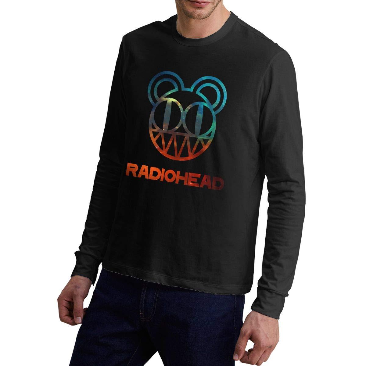 StevenSapp Radiohead Casual Mens Long Sleeve Tee Shirt
