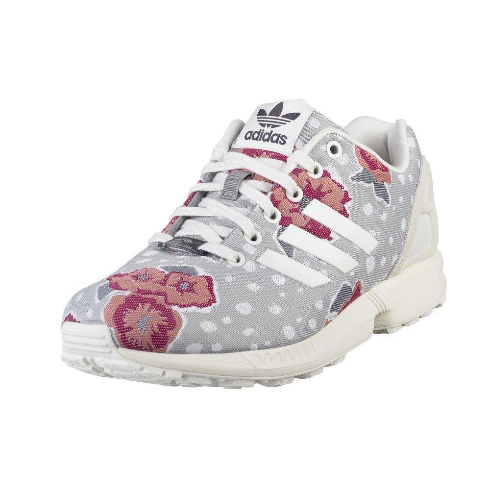 new arrival 4a2af e2c08 adidas Originals ZX Flux Womens Floral Trainers UK 4.5/EUR ...