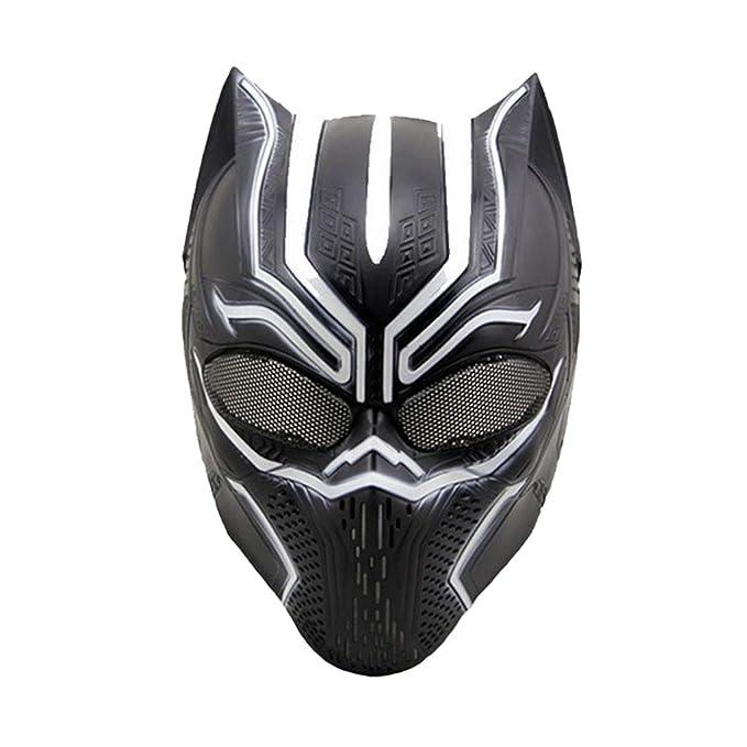 QWEASZER Capitán América: Guerra Civil, Máscaras de Pantera ...