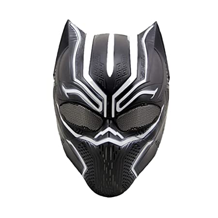 QWEASZER Capitán América: Guerra Civil, Máscaras de Pantera Negra ...
