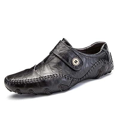 a95da9d182cf MYI Homme Chaussures Cuir Printemps Eté Automne Confort Mocassins & Slip-Ons  Chaussures de Marche