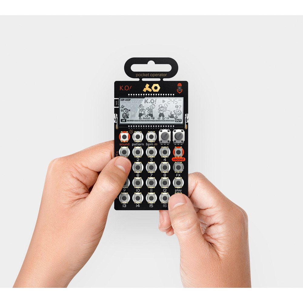 Teenage Engineering Pocket Operator PO-33 K.O!【Japan Domestic genuine products】 【Ships from JAPAN】 TE010AS033