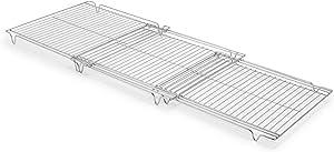 Sur La Table Expandable Cooling Rack, Silver