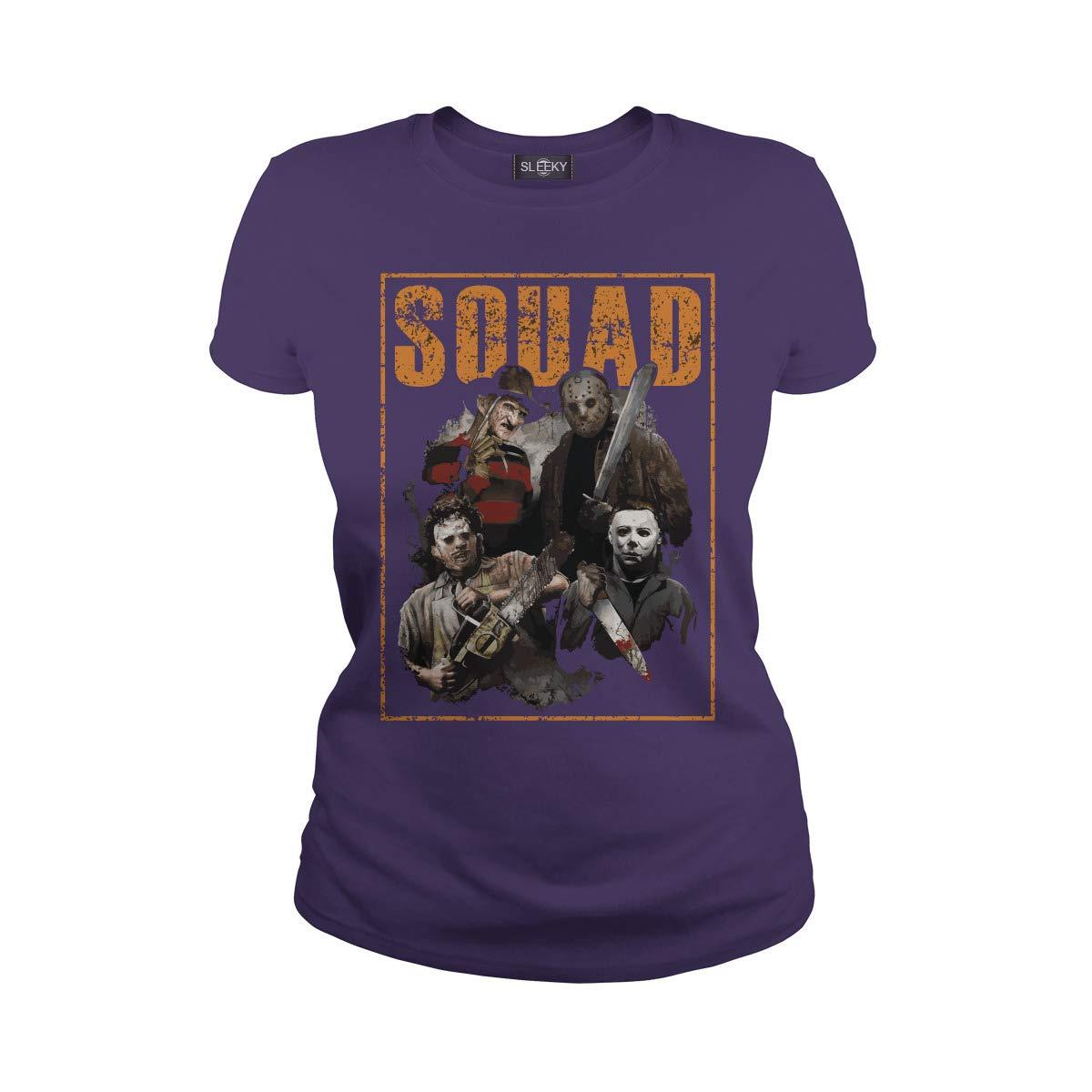 Halloween Squad The Nightmare Jason Halloween Micheal Myers Shirts