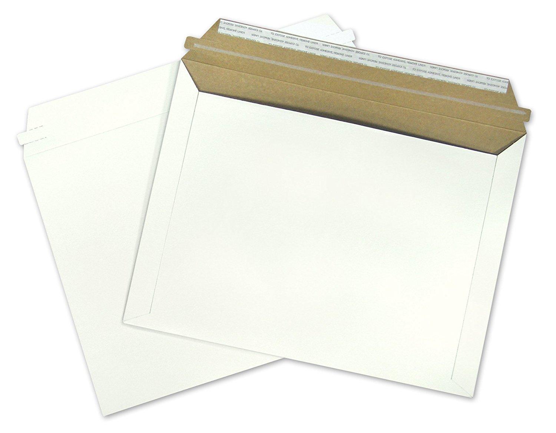12.5x9.5 Flat 12.5 x 9.5 Fiberboard Document Mailing Envelopes Photo Mailers 9.5x12.5, (250) By ValueMailers by ValueMailers